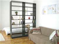 Livingroom of Budapest Holiday Apartment for Rent